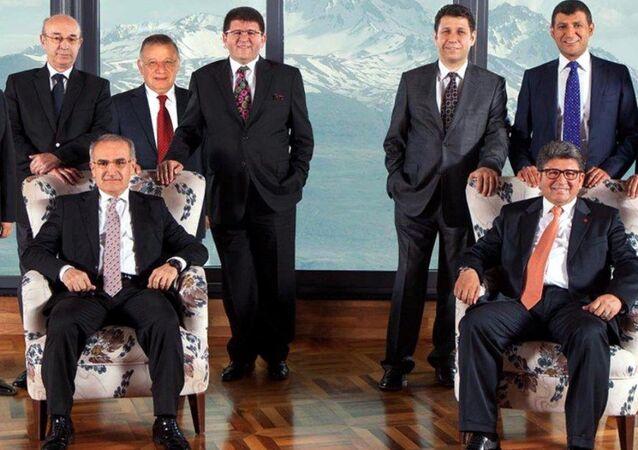 Boydak Holding yöneticileri