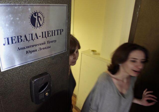 Rusya'nın önde gelen bağımsız kamuoyu araştırma şirketlerinden Levada Center