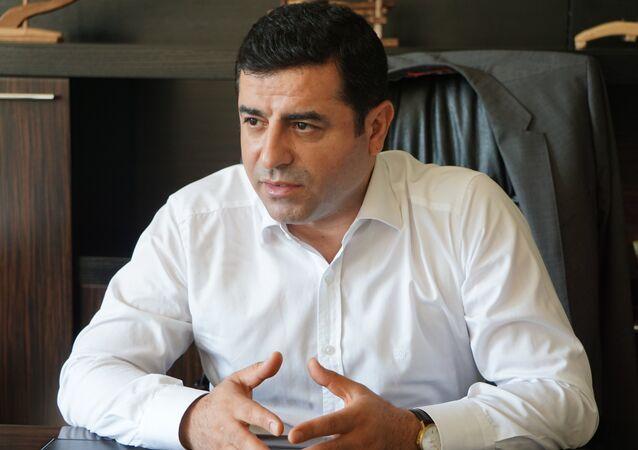 HDP Eş Genel Başkanı Selahattin Demirtaş, Kürt düşmanlığı yaparak Erdoğan'ın kendini dünyaya kabul ettirmesi mümkün değil. Dikkat edersiniz bunu aleni bir Kürt düşmanlığı şeklinde yapmıyor, mutlaka işin içine 'Biz IŞİD'le de mücadele ediyoruz' sözünü karıştırıyorlar dedi.