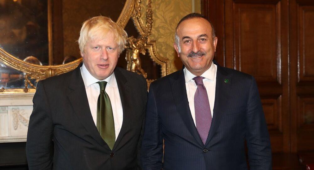 Mevlüt Çavuşoğlu - Boris Johnson