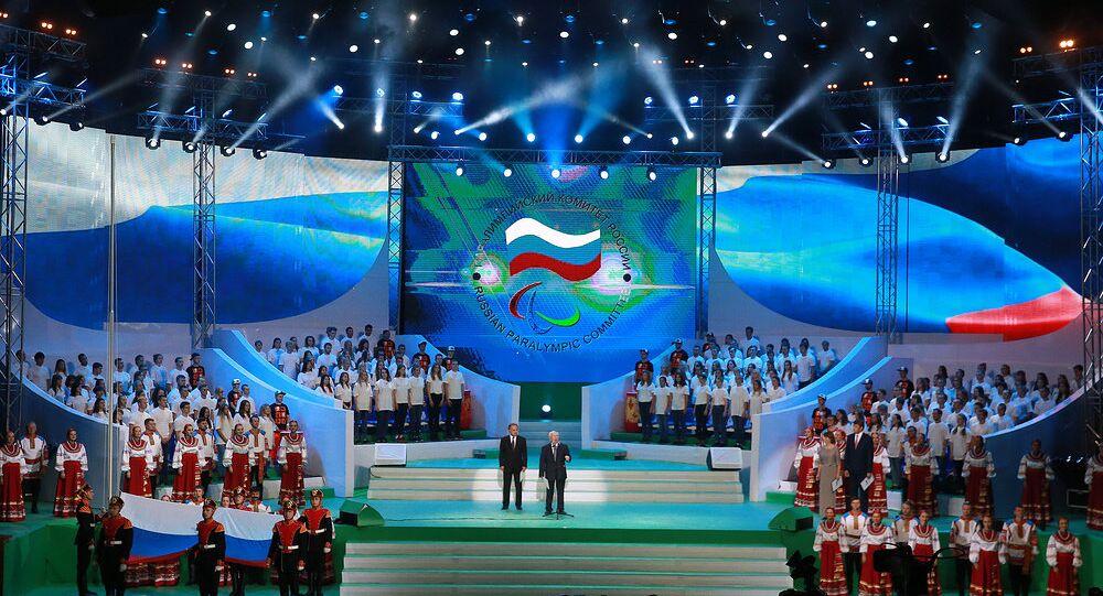 Rusya Paralimpik Oyunları görkemli bir törenle açıldı