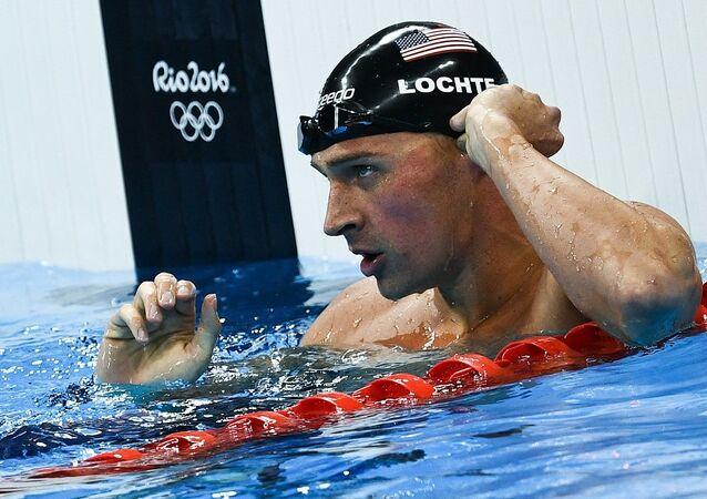 ABD'li yüzücü Ryan Lochte