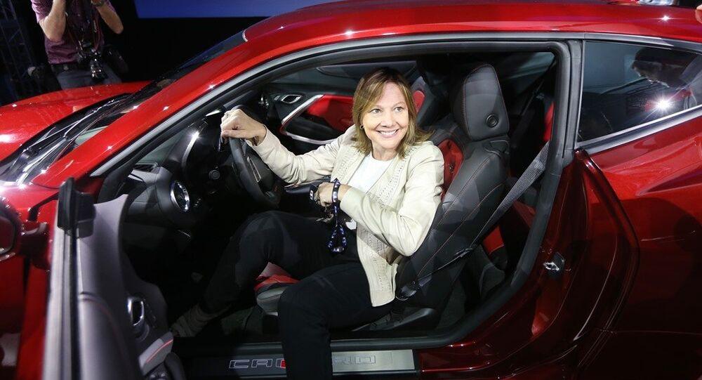General Motors CEO, Mary Barra