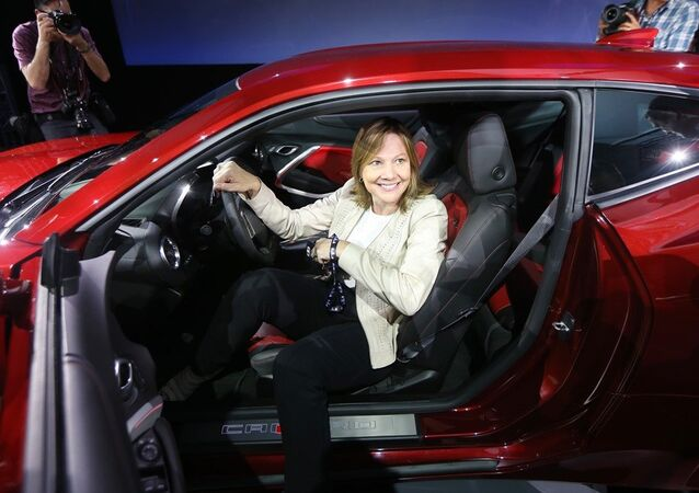 General Motors CEO, Mary Barra