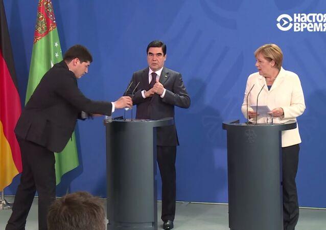 Merkel - Berdimuhammedov / Video Haber