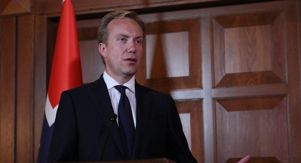 Dışişleri Bakanı Mevlüt Çavuşoğlu, Norveç Dışişleri Bakanı Borge Brende ile Dışişleri Bakanlığı Resmi Konutu'nda görüştü. Bakan Çavuşoğlu ve Brende, görüşmenin ardından ortak basın toplantısı düzenledi.