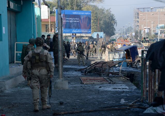 Afgan polisi