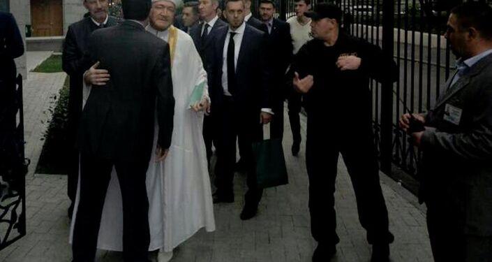 Türkiye'nin Moskova Büyükelçiliği'nde bayramlaşma