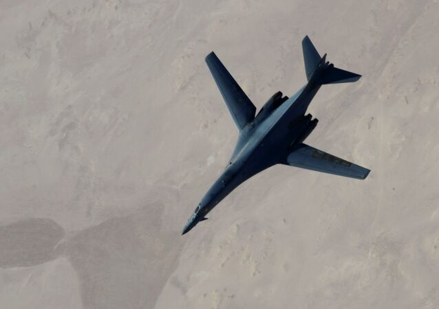 B-1B bombardıman uçağı