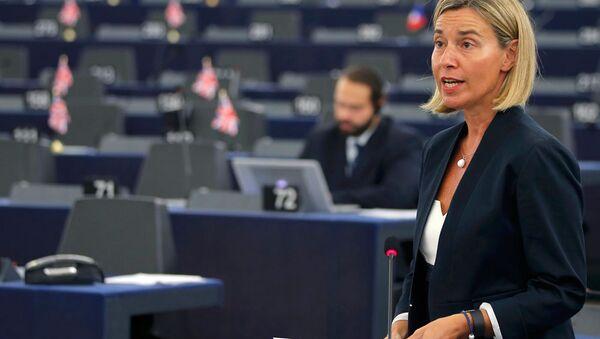 AP Dışişleri Yüksek Temsilcisi Federica Mogherini - Sputnik Türkiye