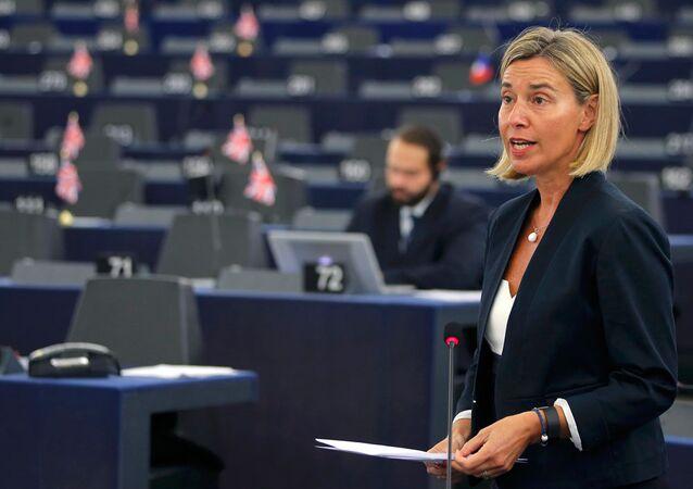 AP Dışişleri Yüksek Temsilcisi Federica Mogherini