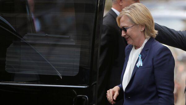 ABD'nin Demokrat başkan adayı Hillary Clinton - Sputnik Türkiye