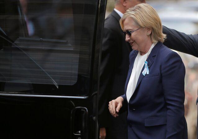 ABD'nin Demokrat başkan adayı Hillary Clinton