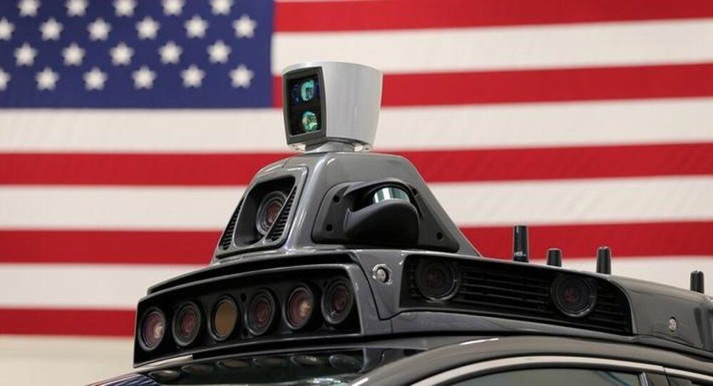 Uber sürücüsüz araç
