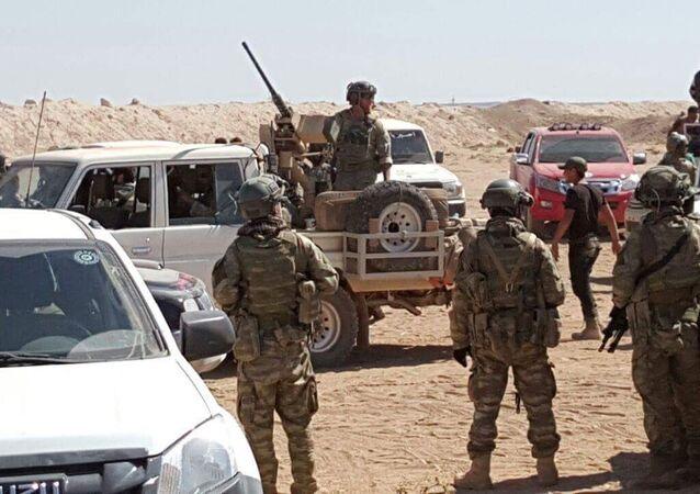 ABD askeri Çobanbey'de
