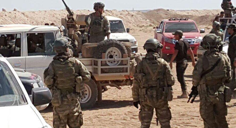 El Bab'daki ABD ordusu askerleri