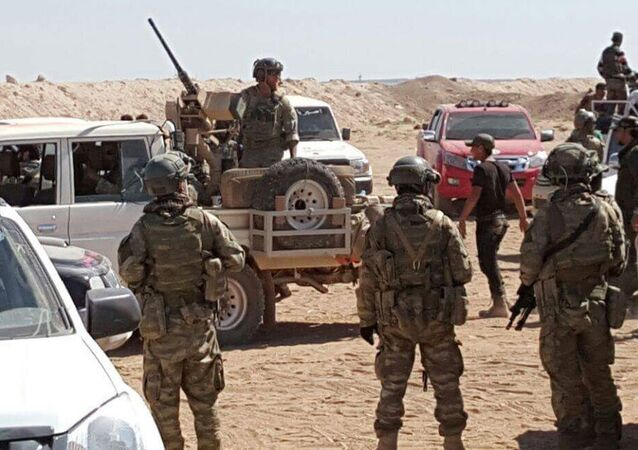 El Bab'daki ABD askerleri