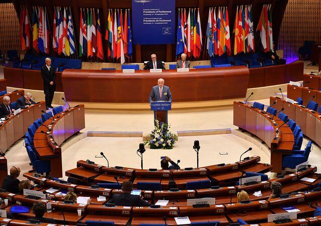 Avrupa Konseyi, İsmail Kahraman kürsüde