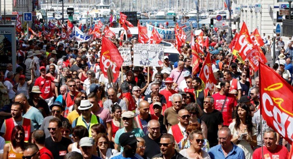Fransa'da yeni iş kanunu protestoları