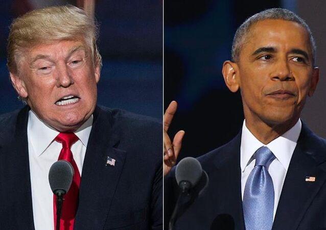 Donald Trump - Barack Obama