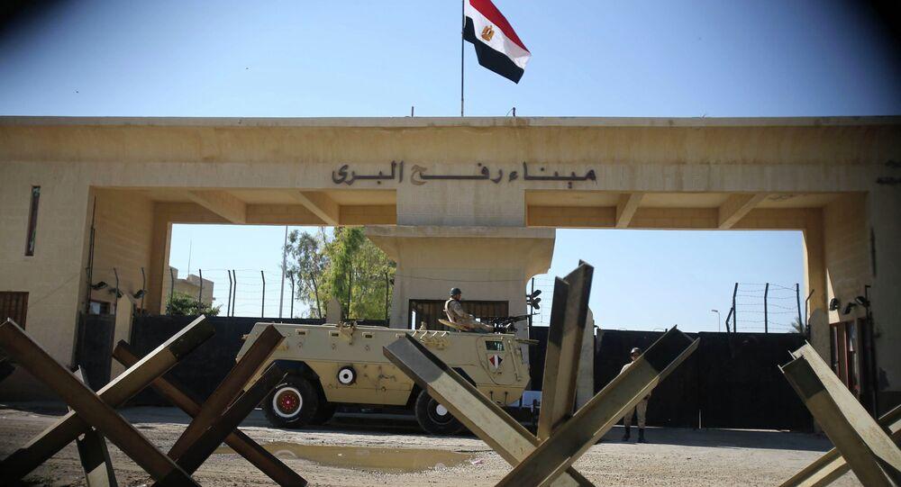 Refah Sınır Kapısı / Mısır - Gazze