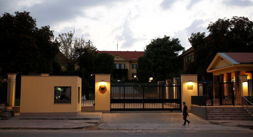 Almanya Ankara Büyükelçiliği