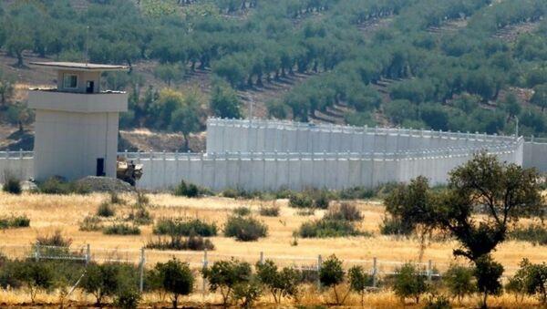 Türkiye - Suriye sınırı / Kilis / duvar - Sputnik Türkiye