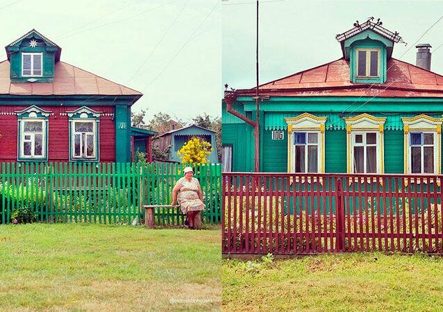 Rusya'nın neredeyse her yerinde karşılaşabilecek geleneksel motiflerle süslü ahşap evler yer alıyor. Ancak bu evler, zamanla ve kentsel yapılanmanın etkisiyle yok olmaya yüz tutmuş durumda. Instagram'daki @oldrussianhouses hesabında ise bu evlerin güzellikleri gözler önüne seriliyor.
