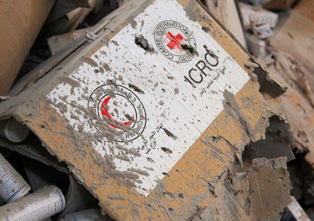 Suriye insani yardım / Suriye Kızılayı / Kızıl Haç