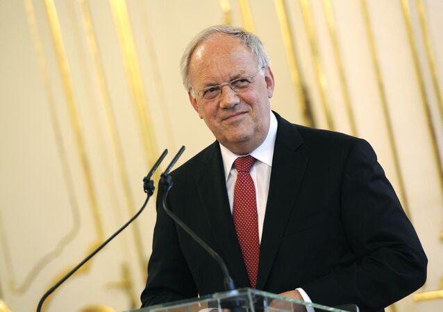 İsviçre Konfederasyon Başkanı Johann Schneider-Ammann