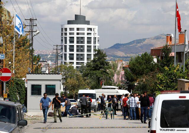 İsrail'in Ankara Büyükelçiliği'ne saldırı girişimi