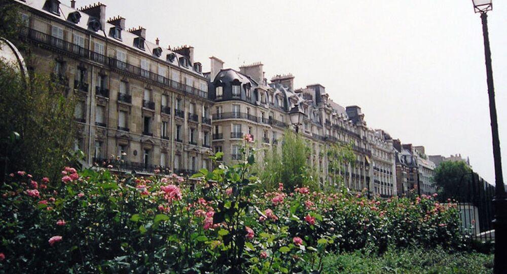 Paris'in 16. bölgesinde bulunan konutlar.