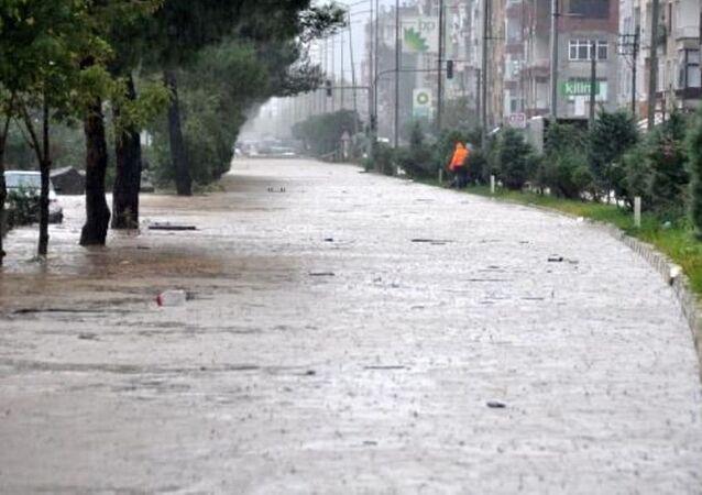 Trabzon - sel