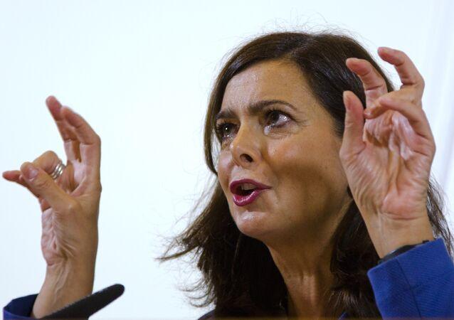 İtalya Temsilciler Meclisi Başkanı Laura Boldrini