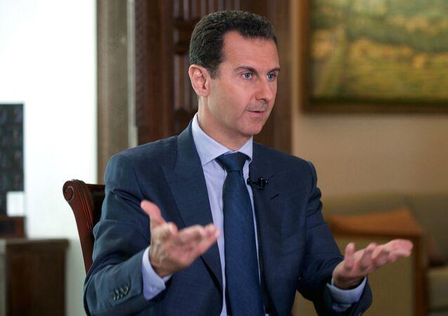 Esad, Associated Press'e konuştu.