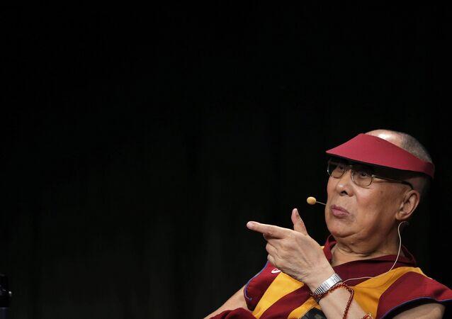 Tibet'in sürgündeki ruhani lideri Dalay Lama