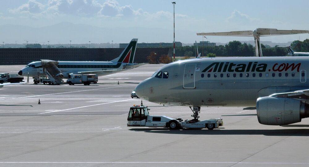 İtalyan havayolu şirketi Alitalia