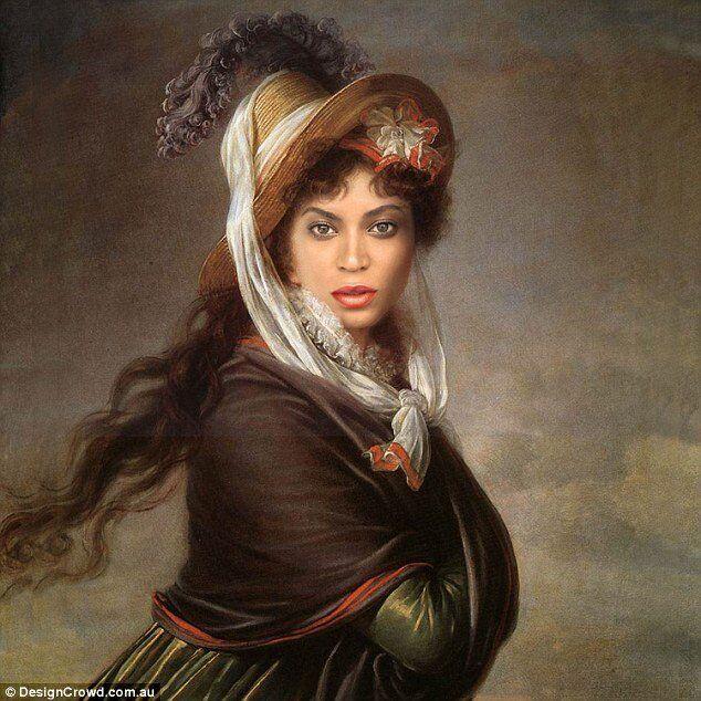 Design Crowd isimli bir tasarım sitesinin başlattığı proje ile Avustralya, Fransa, Gana, İran ve dünyanın birçok yerinden birçok grafik tasarımcı, klasik tabloları Kim Kardashian, Kanye West, Beyonce ve Angelina Jolie gibi ünlü isimlerle buluşturdu.