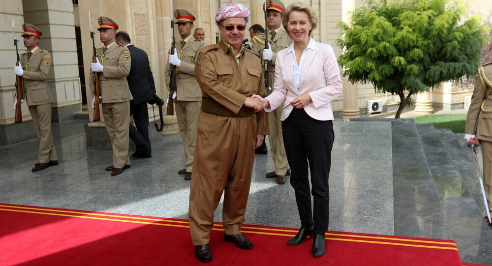 Mesud Barzani - Ursula von der Leyen