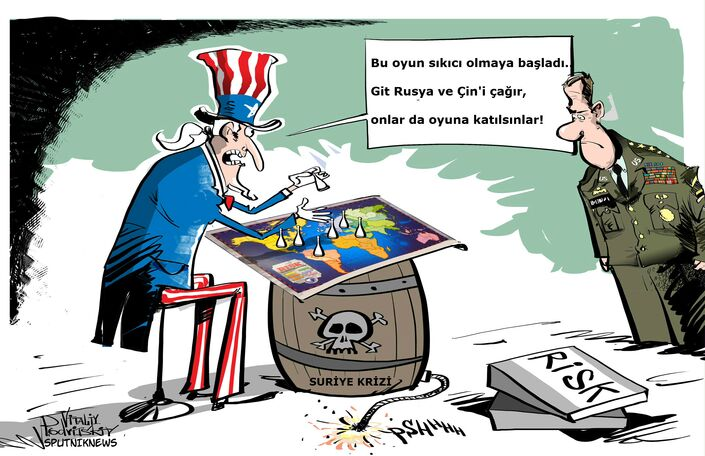 'Washington'un amacı Rusya ve Çin üzerinde kontrolü ele geçirmek'
