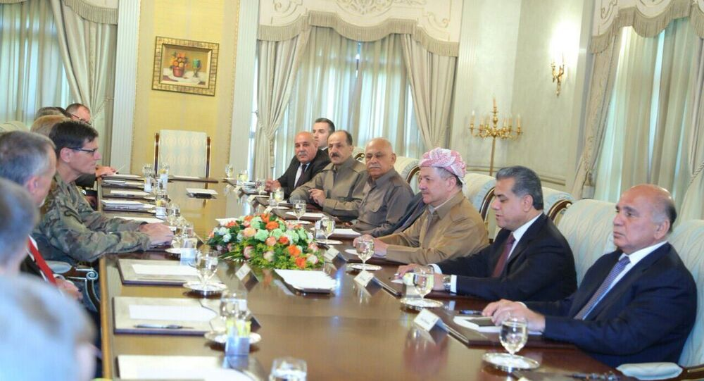 Barzani Votel görüşmesi