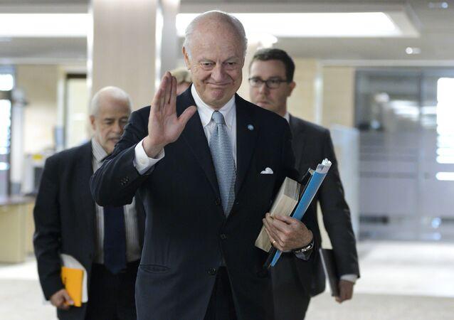 Staffan de Mistura, UN Special Envoy of the Secretary-General for Syria.