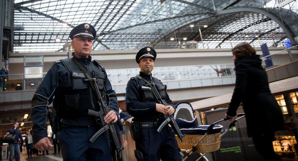 Almanya terörle mücadele, Alman polisi