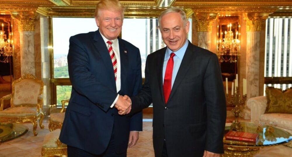 Binyamin Netanyahu ve Donald Trump