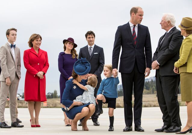 İngiliz Kraliyeti Kanada'da / Prens George
