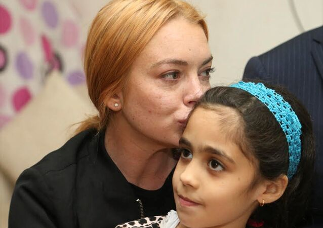Lindsay Lohan, Suriye sığınmacı