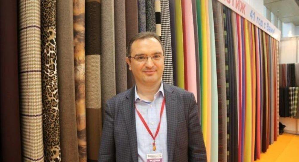Tkani Prestij firması sahibi Hulki Öz, Rusya-Türkiye fuar