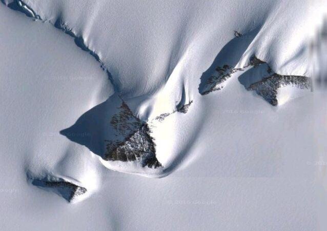 Antartika'daki piramitler
