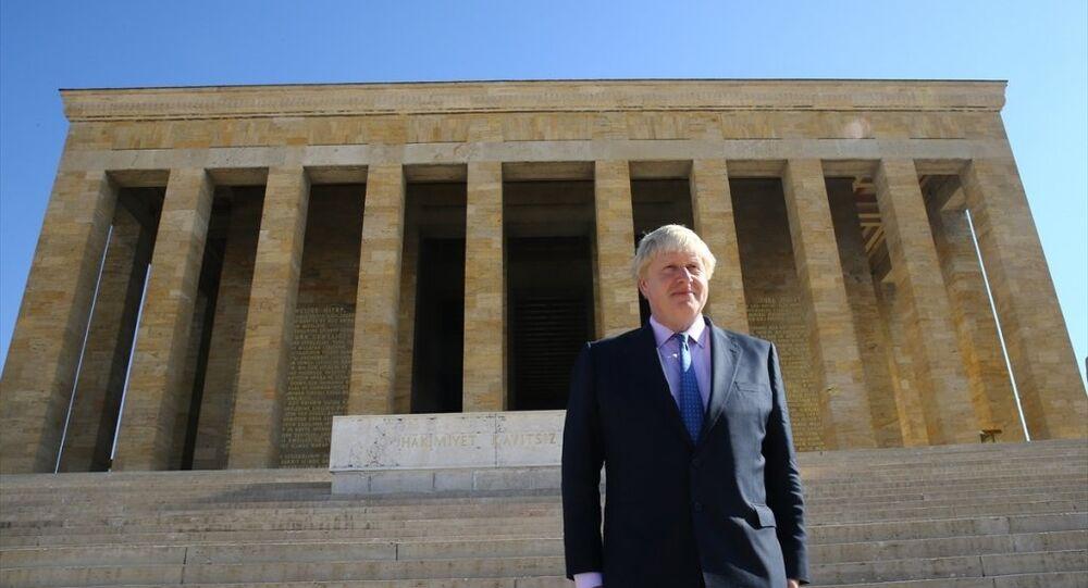 İngiltere Dışişleri Bakanı Boris Johnson, Anıtkabir'de