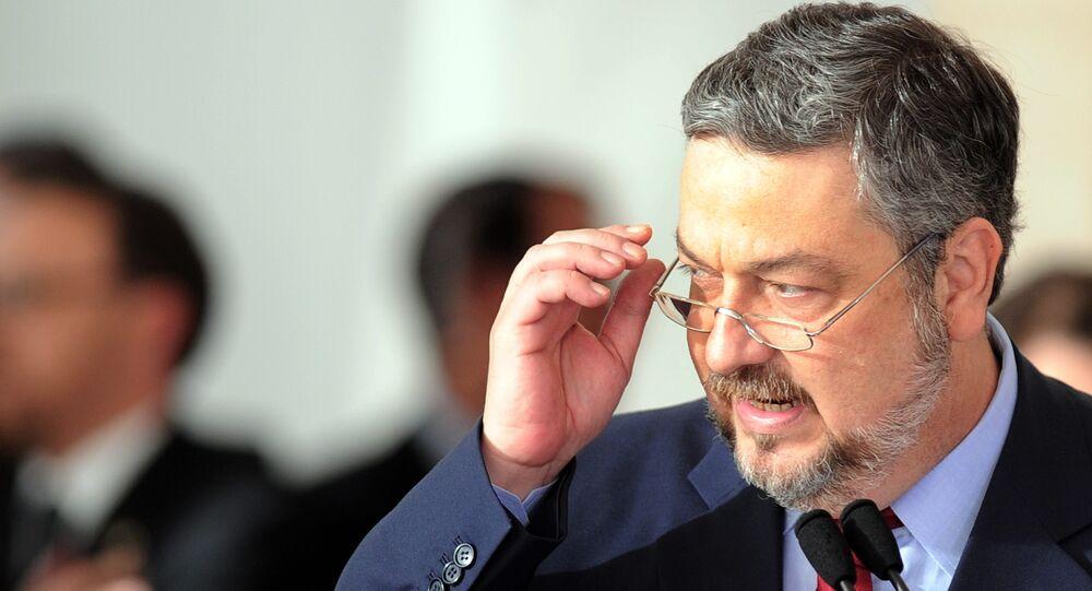 Brezilya'nın eski Ekonomi Bakanı Antonio Palocci